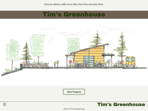 Tim's Greenhouse